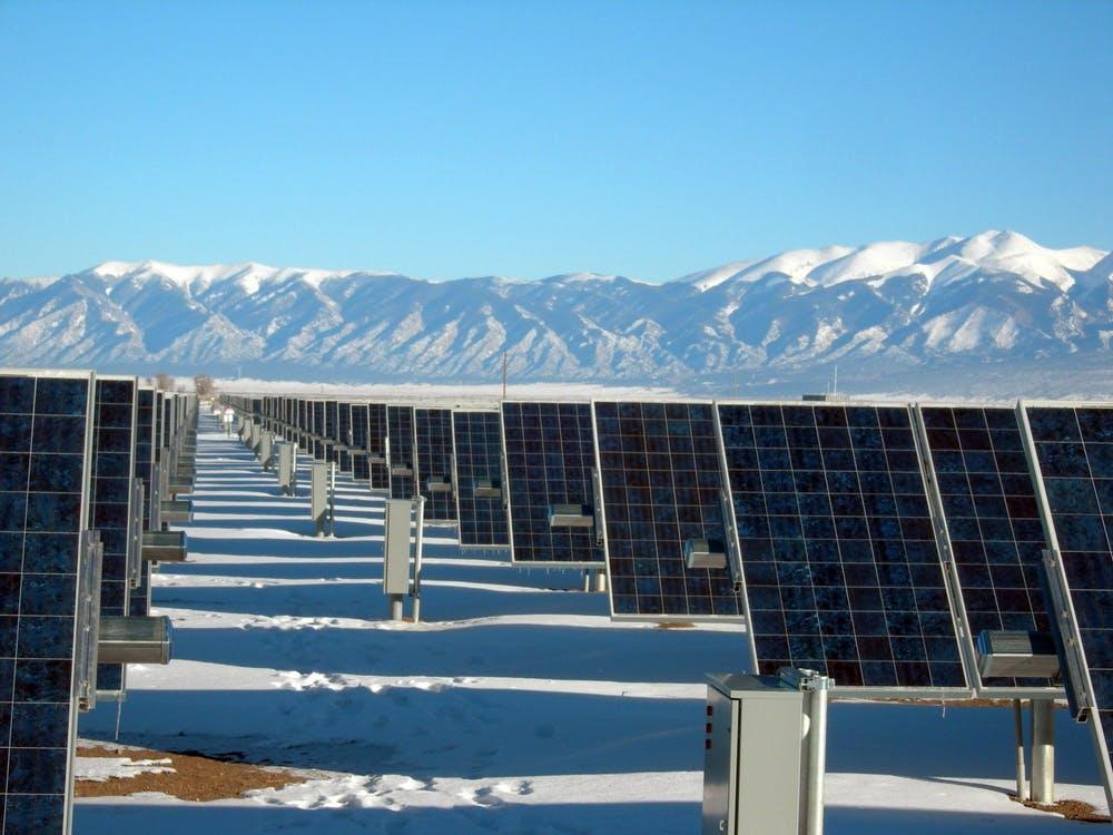 Commercial solar panels